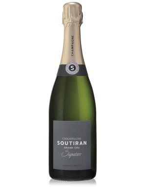Soutiran Signature Brut Grand Cru Champagne NV 75cl