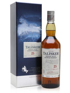 Talisker 25 Year Old Single Malt Scotch Whisky 2011 70cl