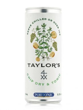 Taylor's White Port Chip Dry & Tonic Can 25cl