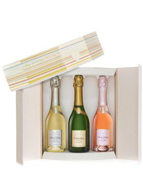Deutz Prestige Trio Gift Pack Champagne 3x 37.5cl