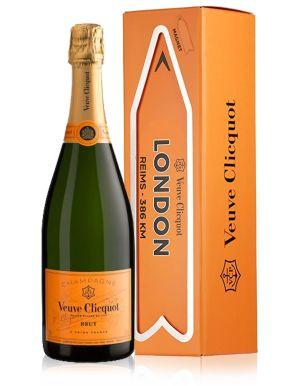 Veuve Clicquot Brut Champagne LONDON Magnet Arrow 75cl