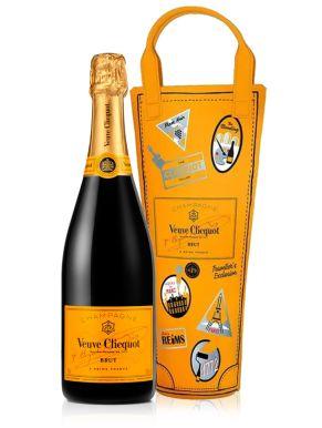 Veuve Clicquot Brut Champagne Colorama Travel Pack 75cl