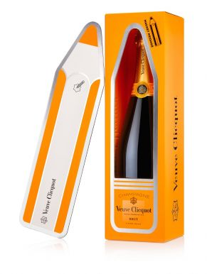 Veuve Clicquot Brut Champagne Magnet Message 75cl Gift Box