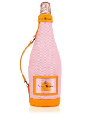 Veuve Clicquot Rose Champagne Ice Jacket 4 NV 75cl