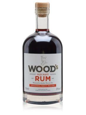 Woods 100 Old Navy Rum 70cl