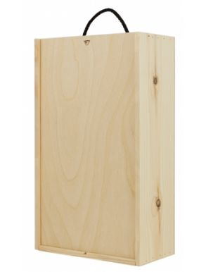 Wooden Wine Box - Two Bottles WWB