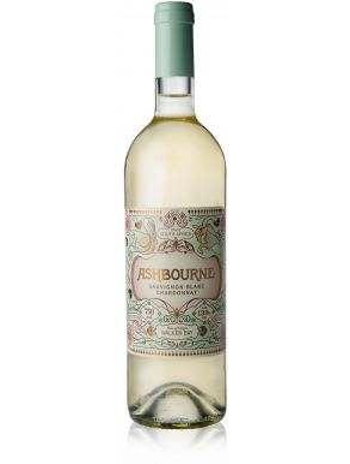 Ashbourne Sauvignon Blanc Chardonnay 2016 White Wine South Africa 75cl