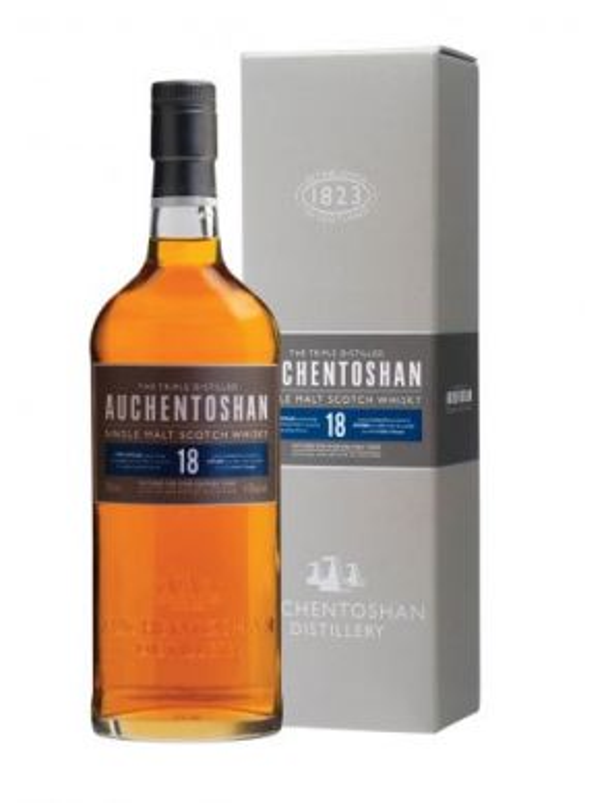 Auchentoshan 18 Year Old Whisky Gift Box