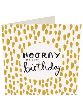 Gift Card - Hooray It'S Your Birthday