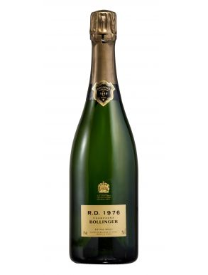 Bollinger RD 1976 Vintage Champagne 75cl Wooden Gift Box