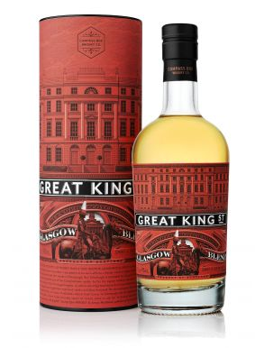 Great King Street Glasgow Blended Scotch Whisky By Compass Box 50cl