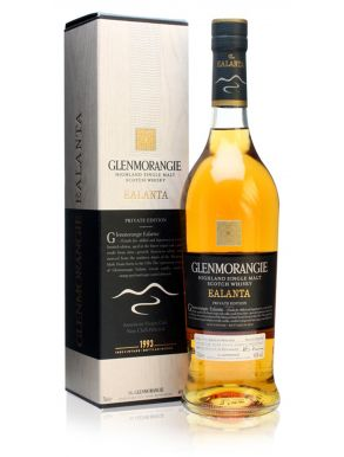 Glenmorangie Ealanta 1993 19 Year Old Malt Whisky Private Edition 70cl