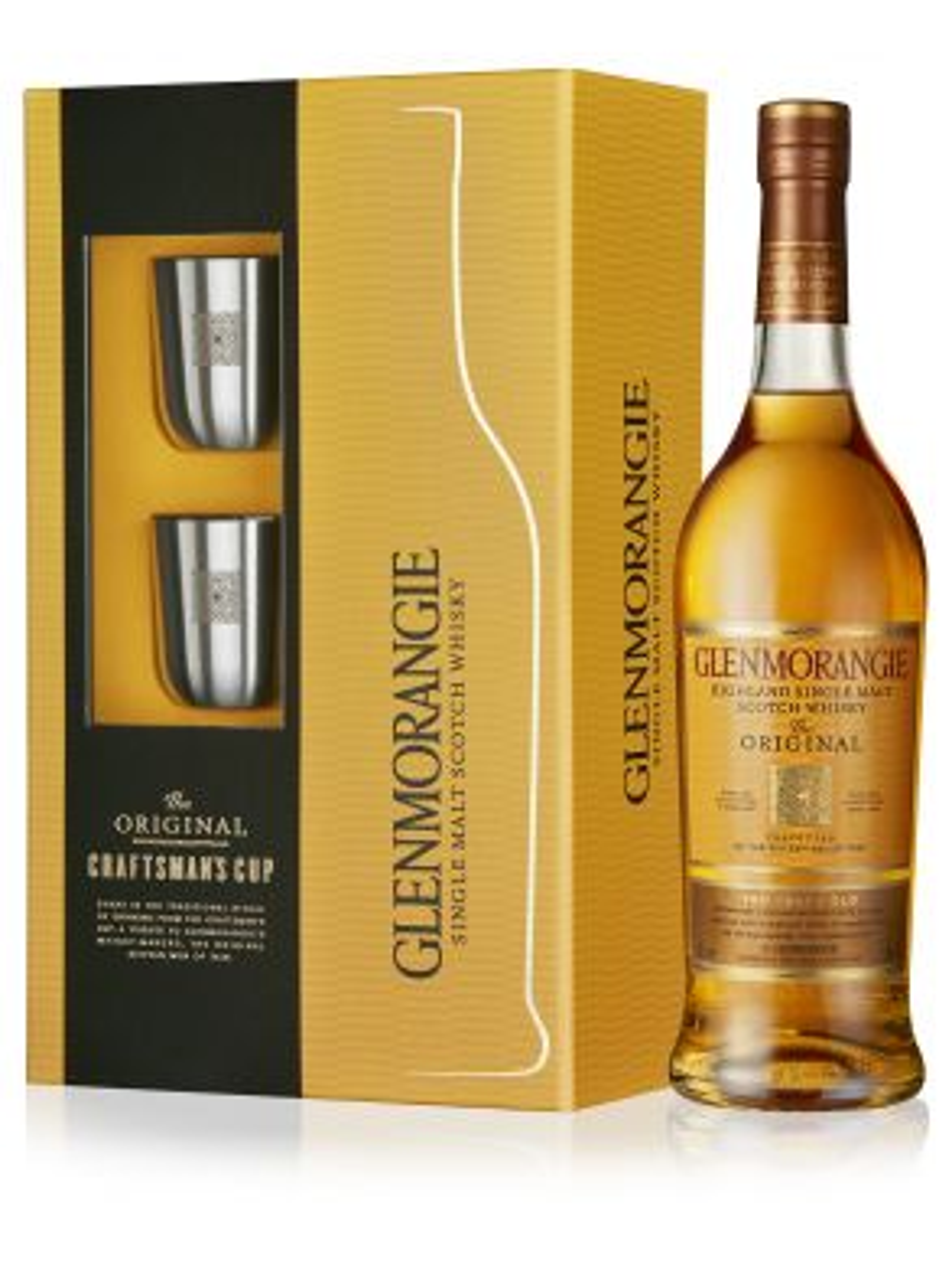 Glenmorangie 10 Year Old Single Malt Whisky Craftman's Cup Gift Set