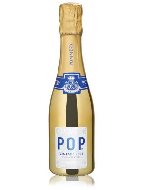 Pommery Pop Gold Grand Cru 2006 Champagne Mini Bottle 20cl