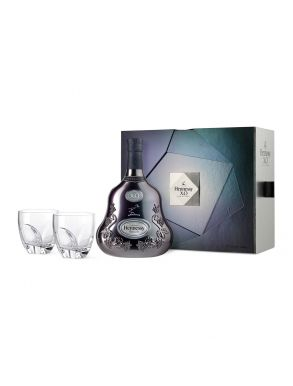 Hennessy XO Cognac 70cl & 2 Tumblers Ice Experience Gift Set