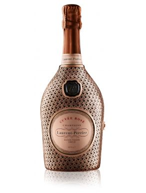 Laurent-Perrier Rose NV Champagne Metal Robe Limited Edition 75cl