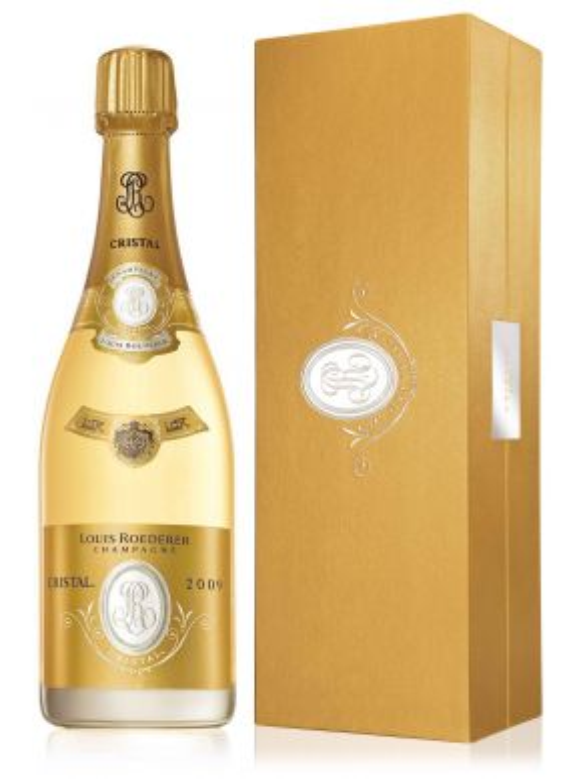 Louis Roederer Cristal 2009 Vintage Champagne 75cl Gift Box