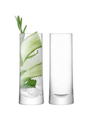 LSA Gin Highball Glasses - 380ml (Set of 2)