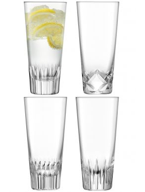 LSA Tatra Mixer Glasses - 315ml (Set of 4)