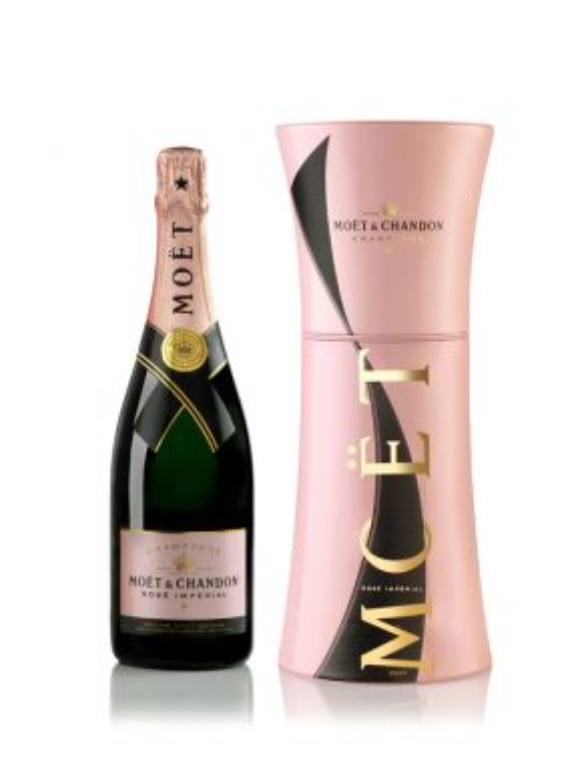 Moet & Chandon Rosé NV Champagne Unfurl Tie Gift Box
