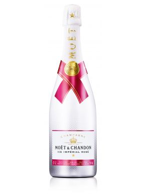 Moet & Chandon Rose Ice Imperial NV Champagne 75cl