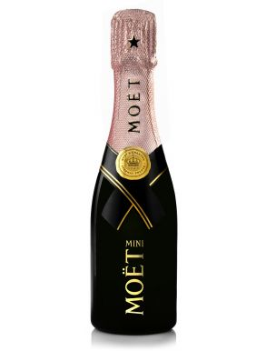 Moet & Chandon Rose Imperial Champagne Quarter Mini Bottle 20cl