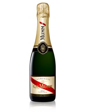 Mumm Cordon Rouge Brut Champagne Half Bottle NV 37.5cl