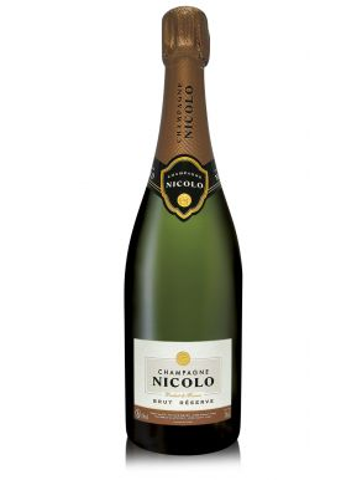 Nicolo Brut Reserve Champagne 75cl