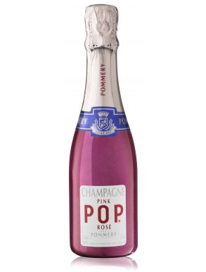 Pommery Pink Pop Rose Champagne Mini Bottle NV 20cl