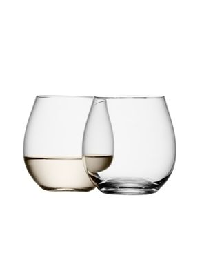 LSA Wine Collection White Wine Stemless Glasses - 370ml (Set of 4)