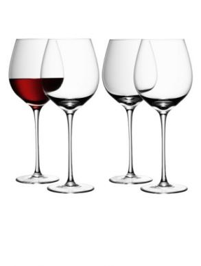 LSA Wine Collection Red Wine Glasses - 750ml (Set of 4)