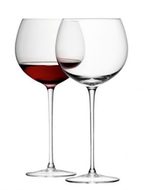 LSA Wine Collection Balloon Wine Glasses - Clear 570ml (Set of 4)