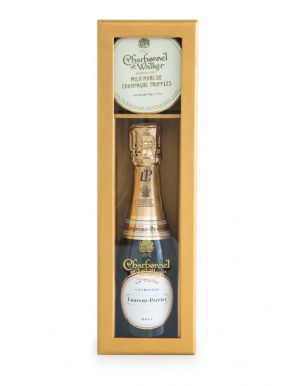 Laurent Perrier La Cuvee Mini Champagne & Truffles Gift Set