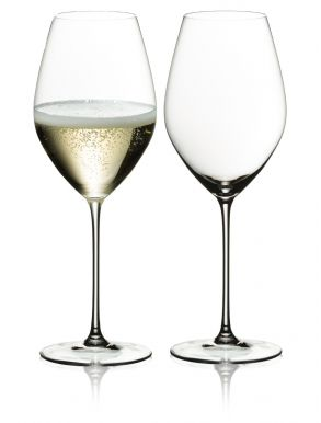 Riedel Veritas Champagne Wine Glasses (Set of 2) Gift Boxed