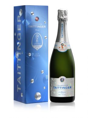 Taittinger Brut Reserve NV Champagne 2018 World Cup Edition 75cl