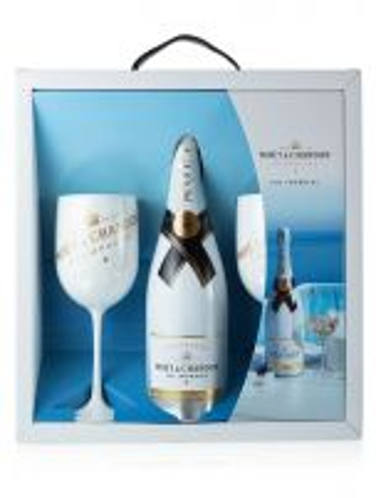 Moet & Chandon Ice Impérial NV Champagne 75cl & 2 Flutes Gift Set