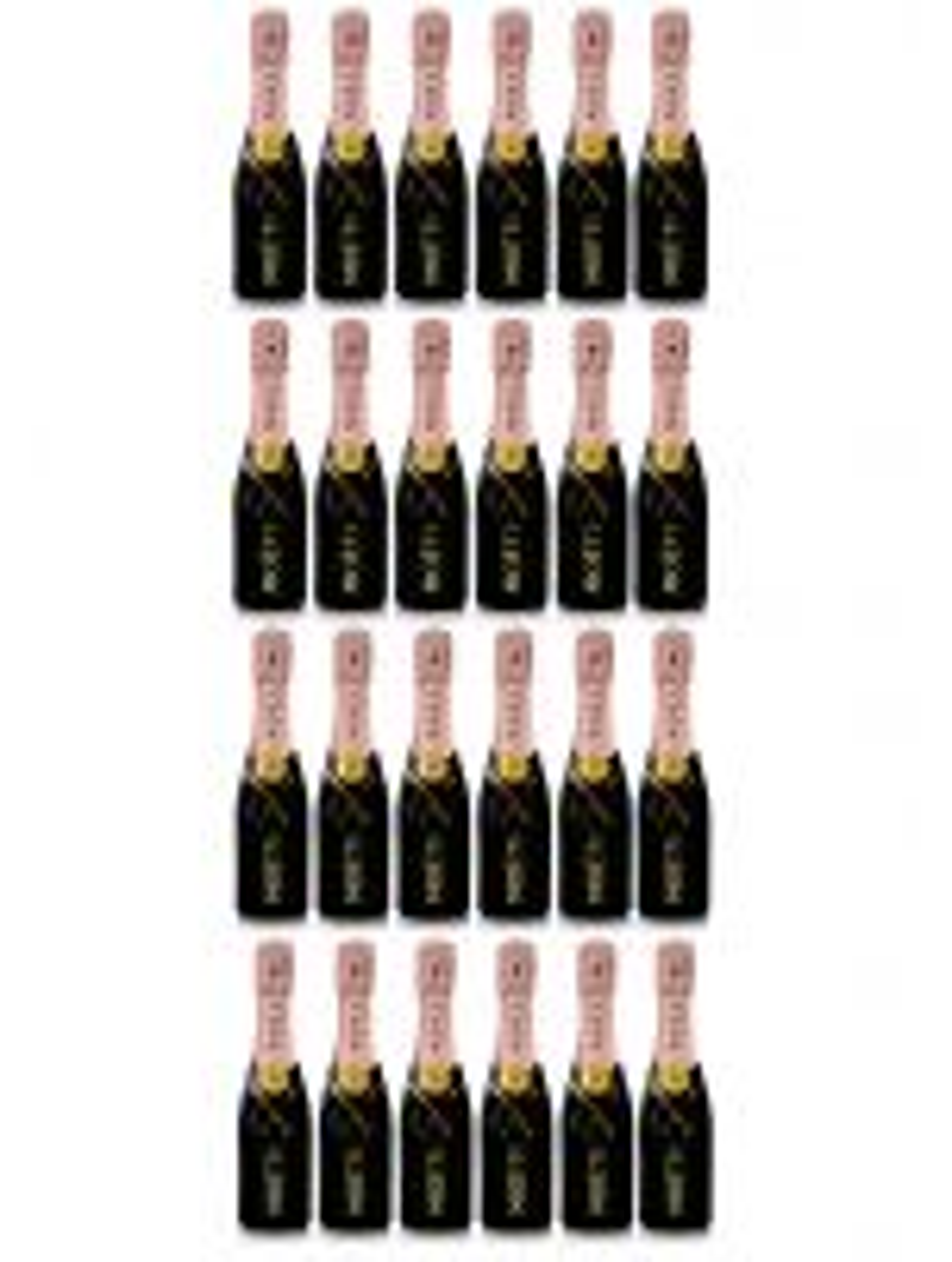 Moet & Chandon Rose Champagne NV Case Deal 24 x 20cl