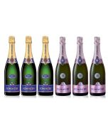Pommery Champagne Collection Case Deal 6x75cl