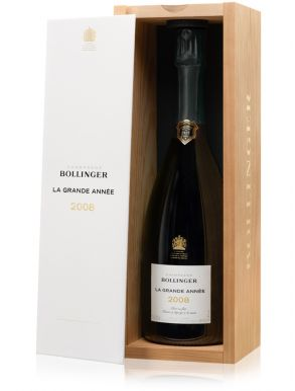 Bollinger La Grande Annee 2008 Vintage Champagne 75cl Gift Box