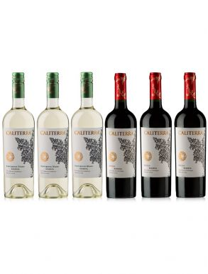 Caliterra Red & White Reserva Wine Case Deal 6 x 75cl