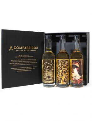 Compass Box Whisky Signature Range Gift Pack 3x5cl