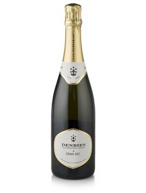 Denbies Demi Sec English Sparkling Wine NV 75cl