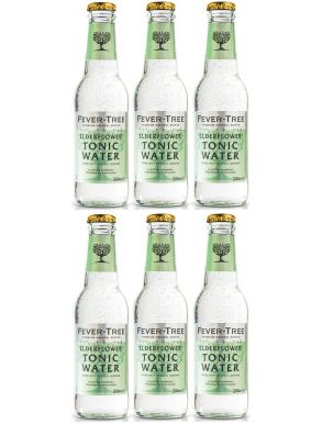 Fever-Tree Elderflower Tonic Water 20cl x 6 bottles