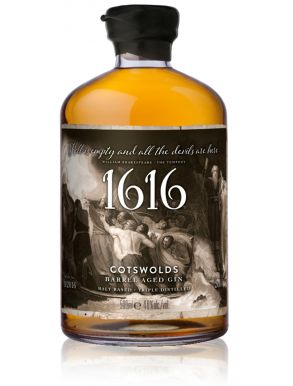 Cotswolds 1616 Barrel Aged Gin 50cl