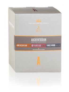 Auchentoshan 12 Year Old, Three Wood & American Oak 3x5cl
