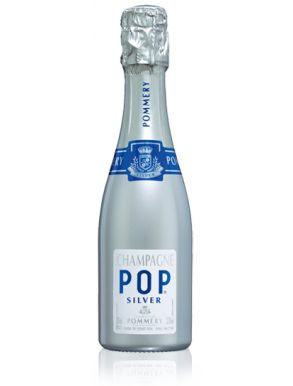 Pommery Pop Silver Champagne Mini Bottle NV 20cl