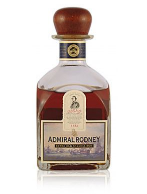 Admiral Rodney Extra Old St.Lucia Rum 70cl