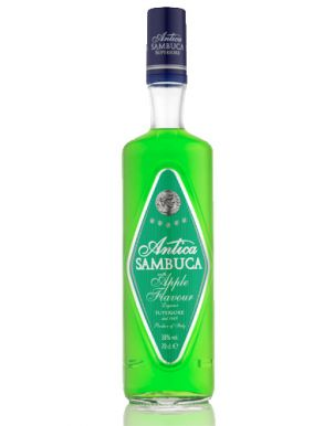 Antica Sambuca with Apple Flavour 70cl
