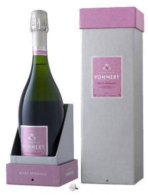 Pommery Apanage Rosé Champagne NV 75cl Gift Box