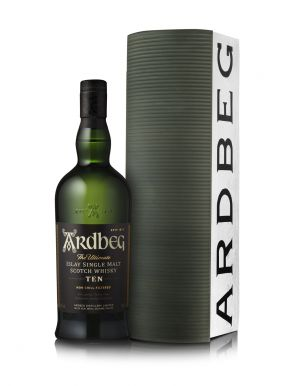 Ardbeg 10 Year Old Single Malt Scotch Whisky Warehouse Pack 70cl